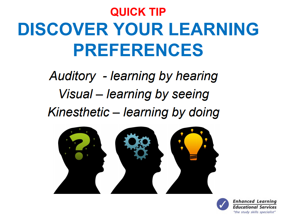 discover your learning preferences